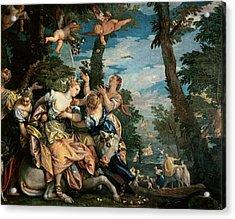 The Rape Of Europa Acrylic Print by Veronese