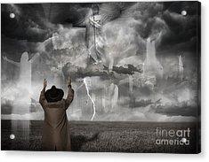 The Rapture II Acrylic Print by Keith Kapple