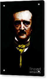 The Raven - Edgar Allan Poe Acrylic Print by Wingsdomain Art and Photography