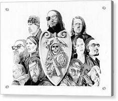 The Reaper Crew Acrylic Print by Keith Larocque