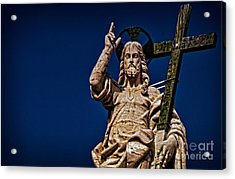 The Redeemer Acrylic Print by Jaymes Williams