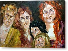 The Redheaded Step Child Acrylic Print by Michelle Dommer