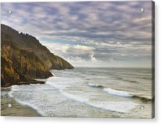 The Remote Coast Acrylic Print by Andrew Soundarajan