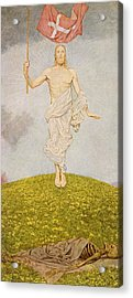 The Resurrection Of Christ Acrylic Print by Hans Thoma