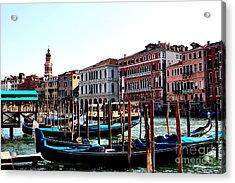 The Ride Venice Italy Acrylic Print by Tom Prendergast