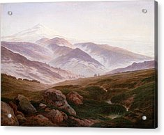 The Riesengebirge  Acrylic Print by Philip Ralley