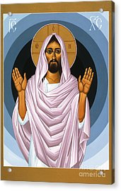The Risen Christ 014 Acrylic Print by William Hart McNichols