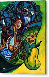 The Rite Of Spring Acrylic Print by Genevieve Esson