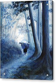 The Road Home Acrylic Print by Donna Walsh