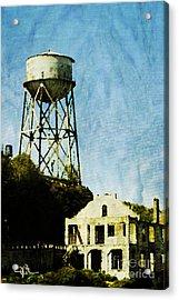 The Rock Alcatraz Island 1 Of 4 Acrylic Print by Jani Bryson