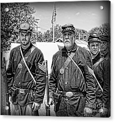 The Rocky Road From Dublin - The Irish Brigade - The Civil War Acrylic Print by Lee Dos Santos