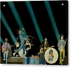 The Rolling Stones - Rip This Joint Acrylic Print by Sean Connolly