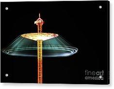 The Rotating Skirt Acrylic Print by Hannes Cmarits