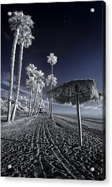 The Rover On Holiday Acrylic Print by Sean Foster