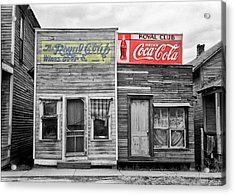 The Royal Club Acrylic Print by Russell Lee
