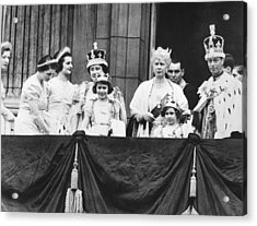 The Royal Family Acrylic Print by Underwood Archives