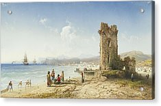 The Ruins Of Chersonesus Crimea Acrylic Print by Celestial Images