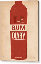 The Rum Diary Acrylic Print by Mike Taylor