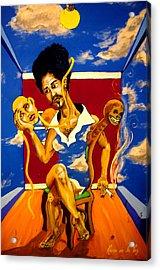 The Ruse Acrylic Print by Jason Duran