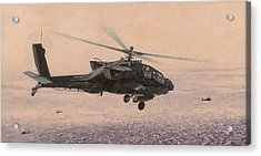 The Sadr City Flying Club Acrylic Print by Wade Meyers