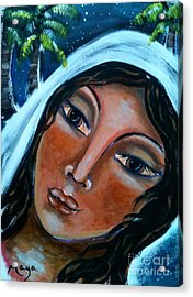 The Samaritan Woman Acrylic Print by Maya Telford