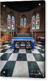 The Sanctuary Acrylic Print by Adrian Evans