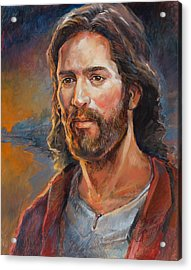 The Savior Acrylic Print by Steve Spencer
