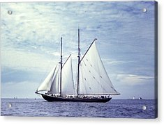 The Schooner Bluenose 2 Again Acrylic Print by George Cousins