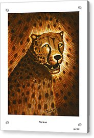 The Scout Acrylic Print by Jonas Jeque