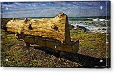 Sea Bench Acrylic Print by Thom Zehrfeld