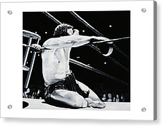 The Seat Acrylic Print by Mike Walrath