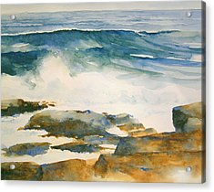 The Seventh Wave Acrylic Print by William Beaupre