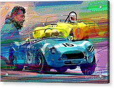 The Shelby Legacy Acrylic Print by David Lloyd Glover