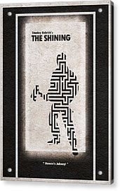 The Shining Acrylic Print by Ayse Deniz