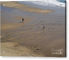 The Shore Acrylic Print by Gregory Dyer