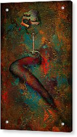 The Sipper Acrylic Print by Greg Sharpe