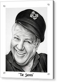 The Skipper Acrylic Print by Greg Joens