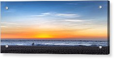 Acrylic Print featuring the photograph The Sky As The Only Limit by Thierry Bouriat