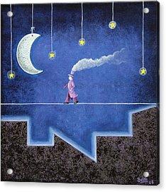 The Sleepwalker I Acrylic Print by Graciela Bello