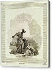 The Smoking Village Acrylic Print by British Library