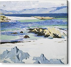 The Sound Of Mull From Iona Acrylic Print by Francis Campbell Boileau Cadell