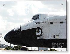 The Space Shuttle Endeavour 1 Acrylic Print by Micah May