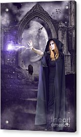 The Spell Is Cast Acrylic Print by Linda Lees