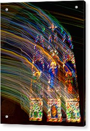 The Spirit Of The Saints Acrylic Print by Kathleen K Parker
