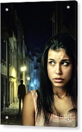 The Stalker Acrylic Print by Carlos Caetano