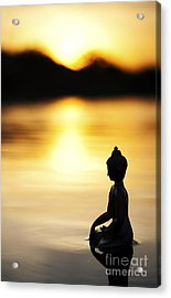 The Stillness Of Sunrise Acrylic Print by Tim Gainey