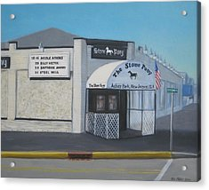 the Stone Pony Acrylic Print by Tim Maher
