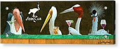 The Stork Club... Acrylic Print by Will Bullas