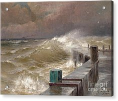The Storm Acrylic Print by Celestial Images