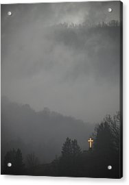 The Storm Is Over Acrylic Print by Ed Kelley
